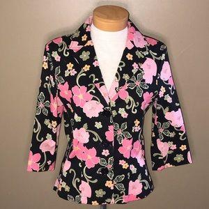 Zinc floral jacket Large